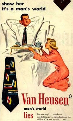 vintage-ad-demeaning-women-van-heusen-ties-woman-serving-man-in-bed