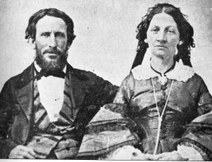 Not a picture of the Picklesmithes, but I figured a picture of the Donner party parents was close enough.