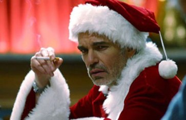 bad santa smoking