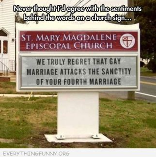 Church sign doing it right