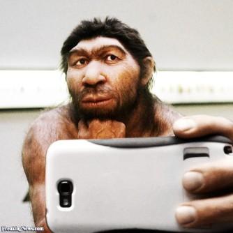Neanderthal Selfie