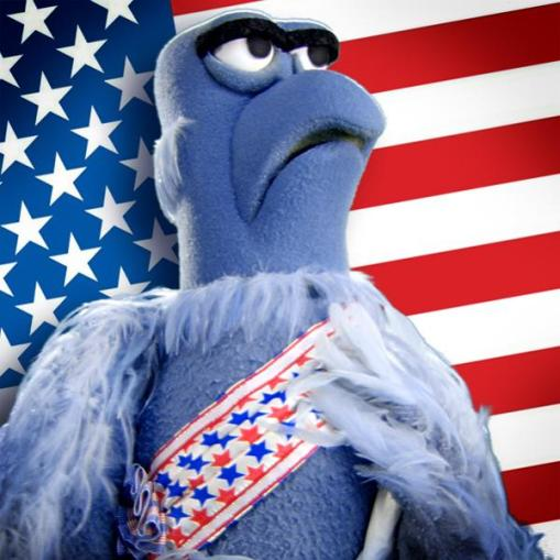 Sam the Eagle Patriotic