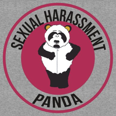 Sexual Harassment Panda Emblem