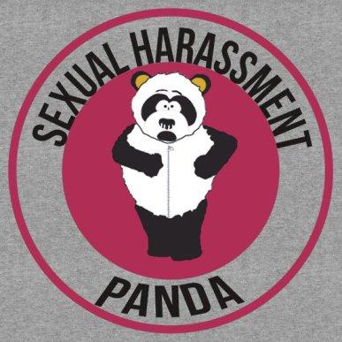 Sexual Harassment Panda Emblem
