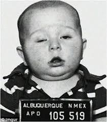 baby mugshot