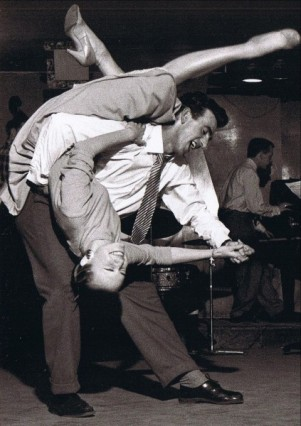 "I never got to ""aerial dance moves"" level of swing dancing"