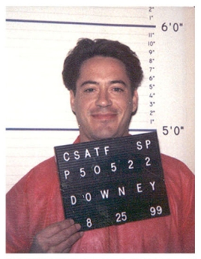 I had to choose this mugshot of Iron Man out of the many that were available.