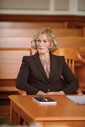 "The show ""Damages"" is all about how obsessed Glenn Close is with seeking justice, but they leave out the part of her taking hours to do whatever it takes to get your hair to do that."