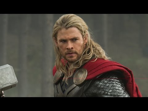 They even do it to Thor! Once hair gets to a certain length, boom, soft curls.