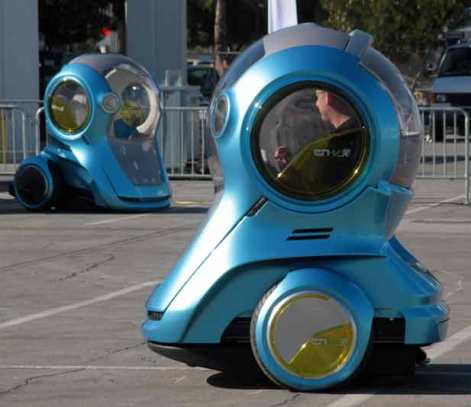 Why are they trying to make autonomous cars look like Segways for fragile people or exaggerated diving helmets?