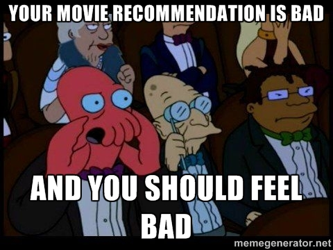 Zoyberg Movie Recommendation