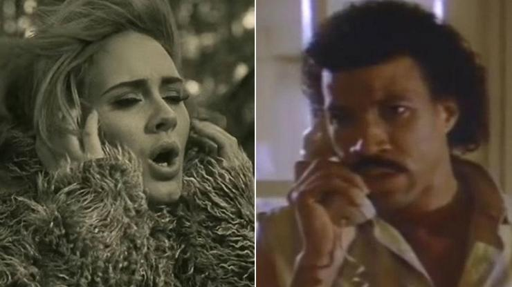 Adele and Lionel Ritchie