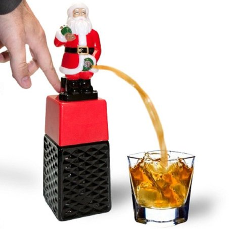 Santa alcohol dispenser