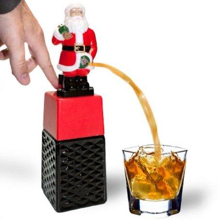Santa alcohol dispenser