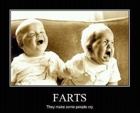baby farts funny