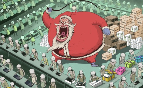 Art once again by Steve Cutts