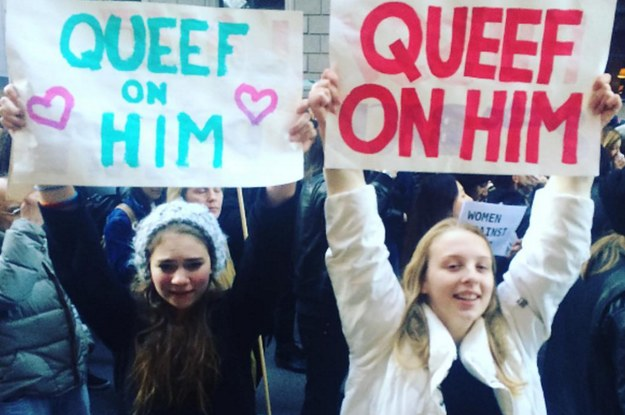queef-on-him-protest-sign